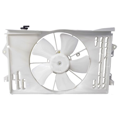 - Sunbelt Radiator And Condenser Fan For Toyota Matrix Pontiac Vibe TO3115125