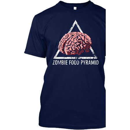Halloween Costumes:  Zombie Food Pyramic Hanes Tagless Tee T-Shirt for $<!---->