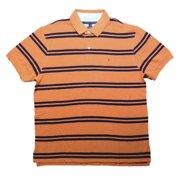 Tommy Hilfiger Mens Classic Fit Striped Cotton Polo Shirt