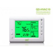 Thermostat Programmable Digital Thermostat, 5+2 Day, Horizontal Mount? Backlit LCD, 1H/1C Dual Powered