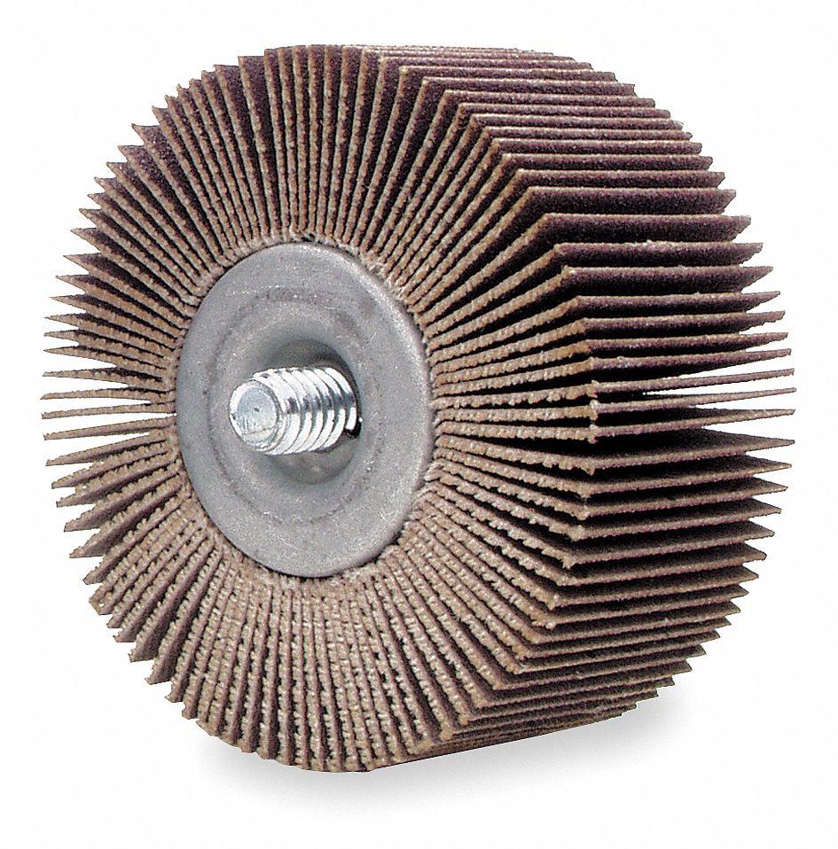 120G AO 3x1x1//4 In Shank Flap Wheel