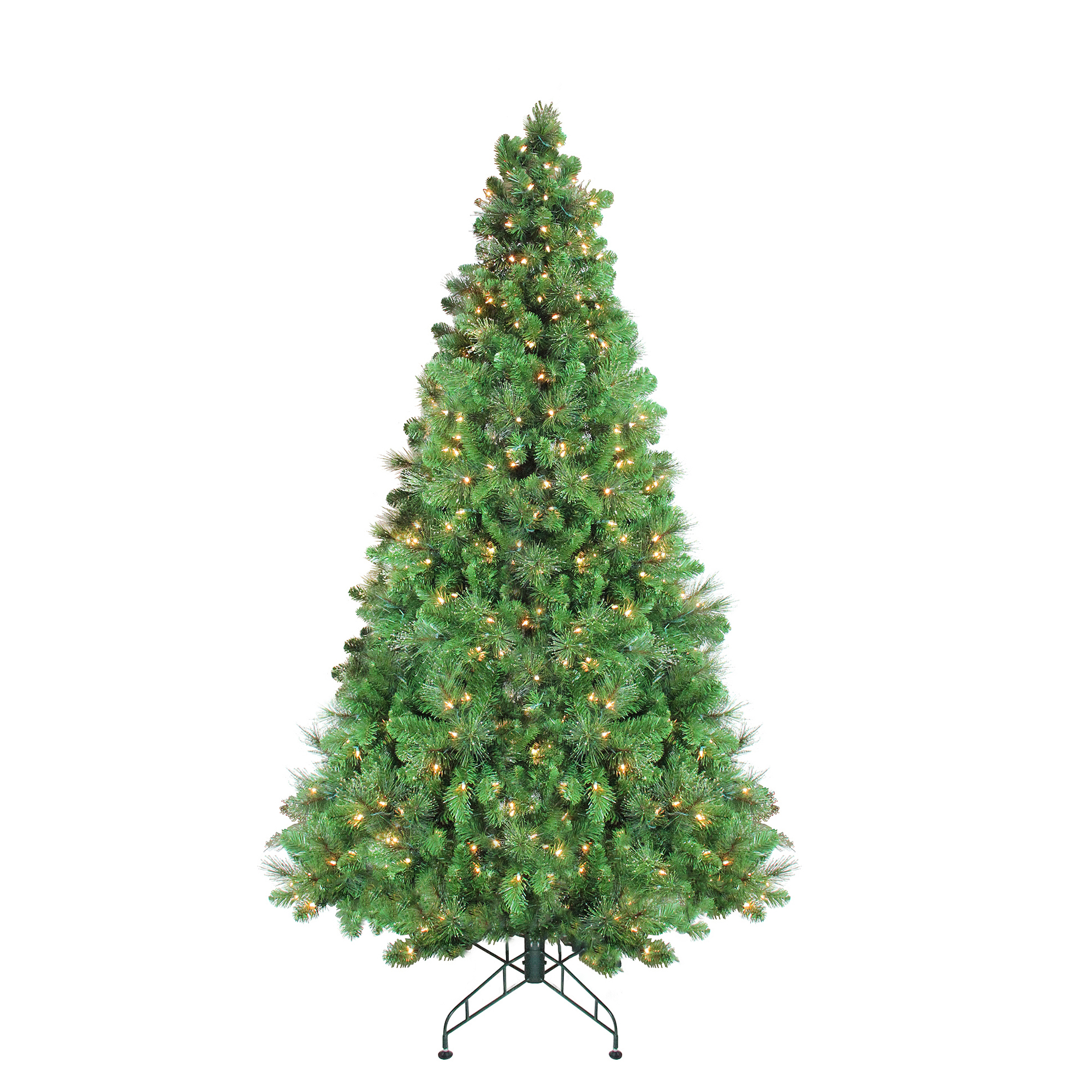 7.5' Pre-Lit Canterbury Spruce with Dew Drops Artificial Christmas Tree - Clear Lights - image 2 of 2