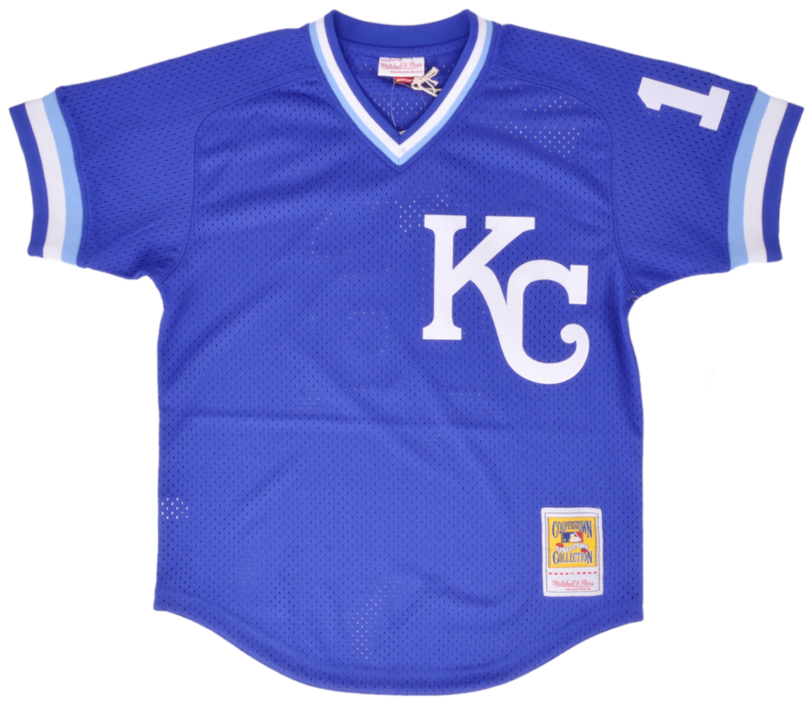 Mitchell And Ness Kansas City Royals Bo Jackson Mesh BP