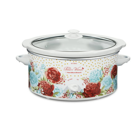 Pioneer Woman 5-Quart Slow Cooker, Blossom Jubilee, Model #33056 by Hamilton Beach