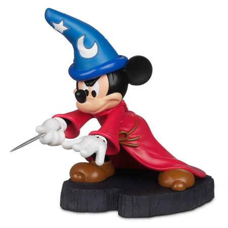 Mickey Mouse Statues (disney parks mickey mouse sorcerer light up hat statue figurine)