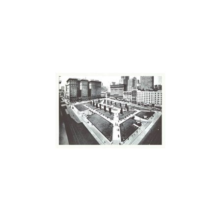Union Square, San Francisco, Ca Print (Unframed Paper Print 20x30)