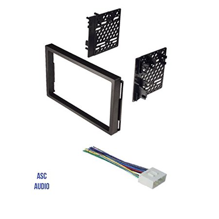 ASC Double Din Car Stereo Install Dash Kit and Wire Harness for 04-06 Chevrolet Aveo; Daewoo: 99-02 Lanos, 99-02 Leganza, 99-02 Nubira; Suzuki: 04-08 Forenza, 05-08 Reno, 04-07 Verona