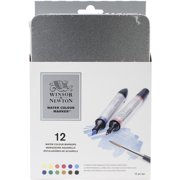 Winsor & Newton Water Colour Marker Set, 12 Count