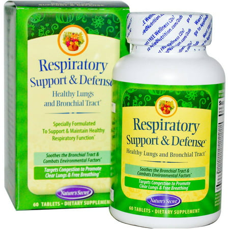 Nature's Secret Ultimate Respiratory Support & Defense, 60 CT