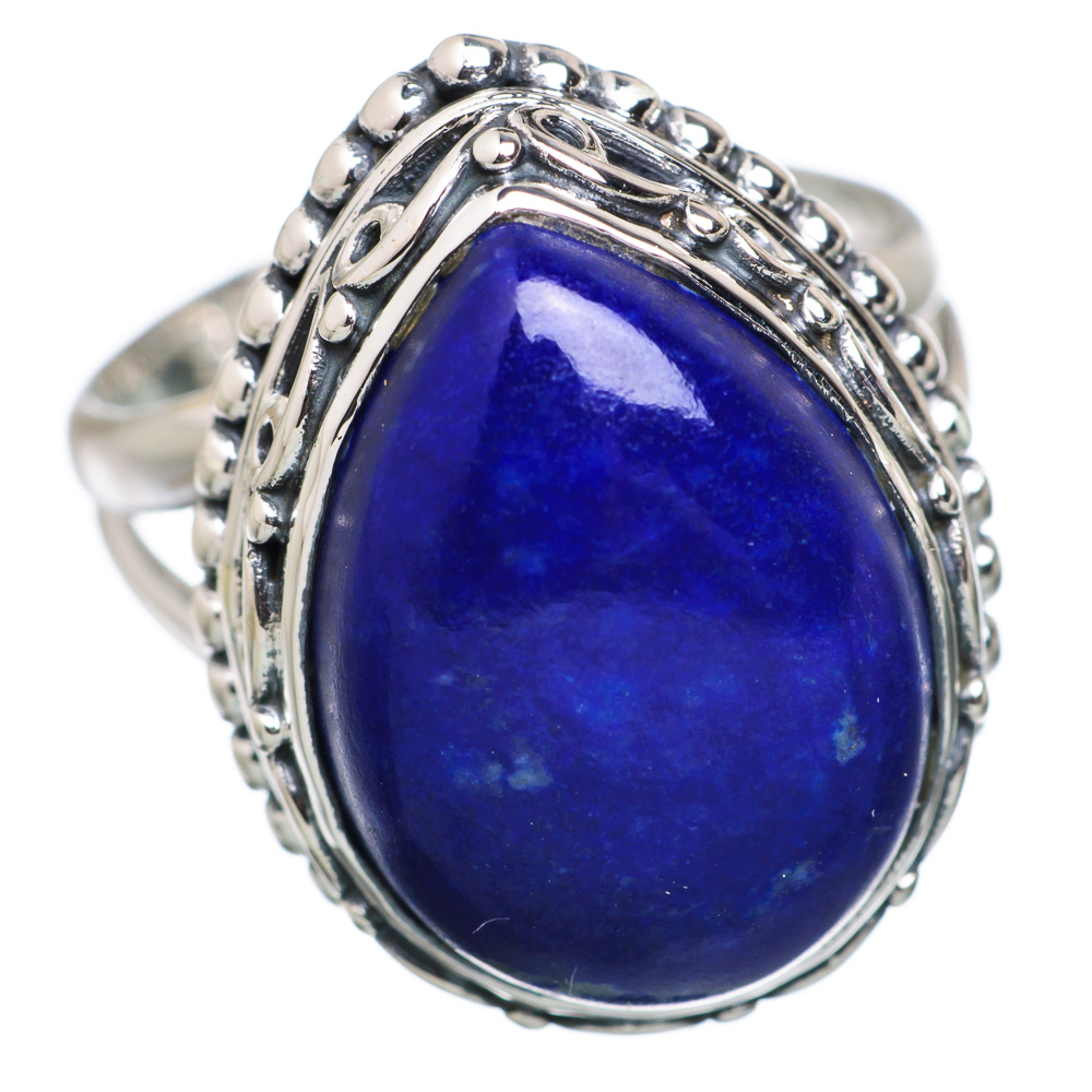 Ana Silver Co Lapis Lazuli 925 Sterling Silver Ring Size 6.75 RING827856