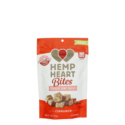 Hemp Heart Bites - Cinnamon 4oz