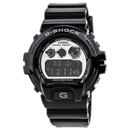 Casio DW6900NB-1 Men's G-Shock Black Resin Auto Calendar Alarm Watch