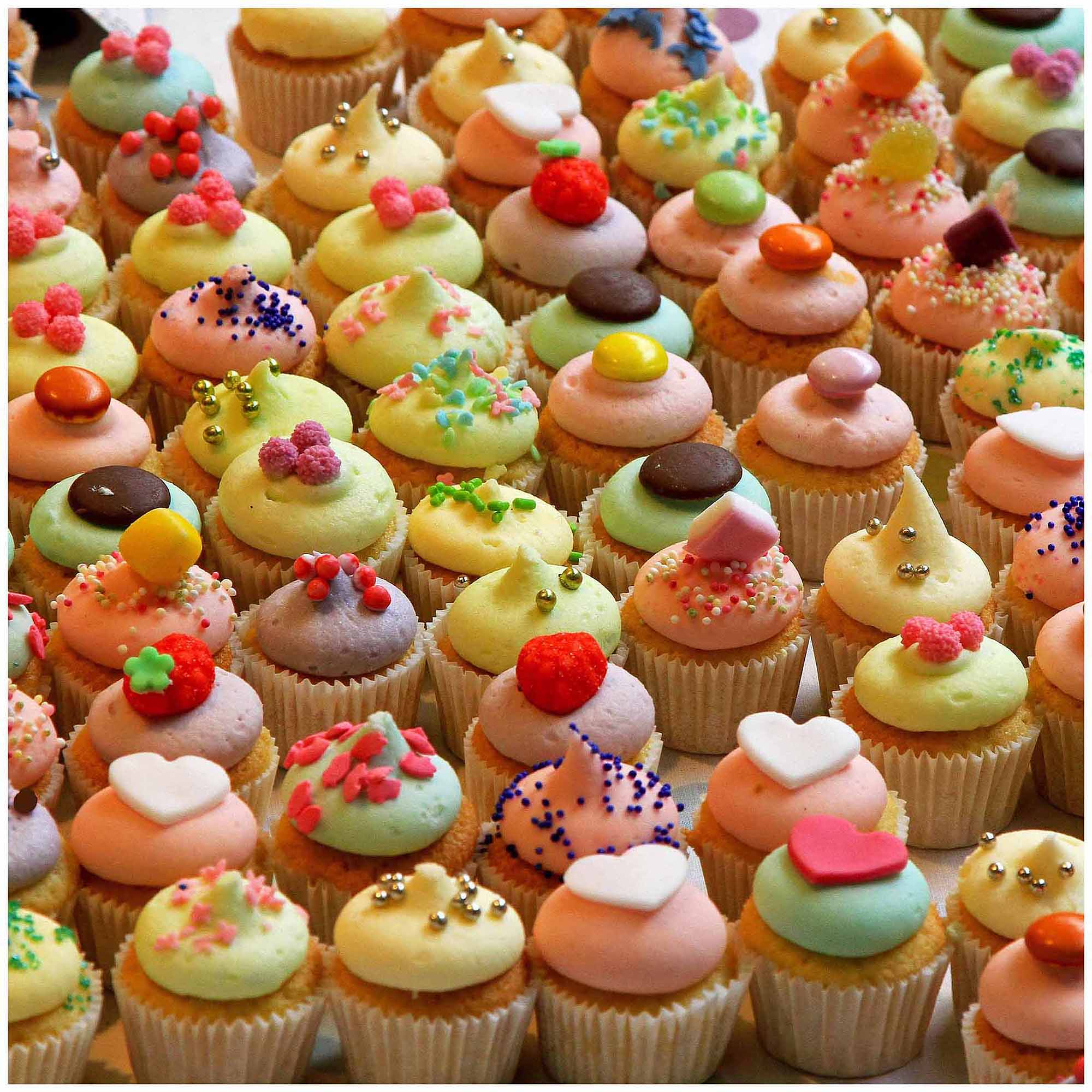 "World's Most Difficult Jigsaw Puzzle 500 Pieces 15""X15""-Killer Cupcakes"