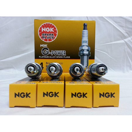 (5018) LFR5AGP Spark Plug - Pack of 4, You can depend on NGK for quality and reliability By NGK,USA