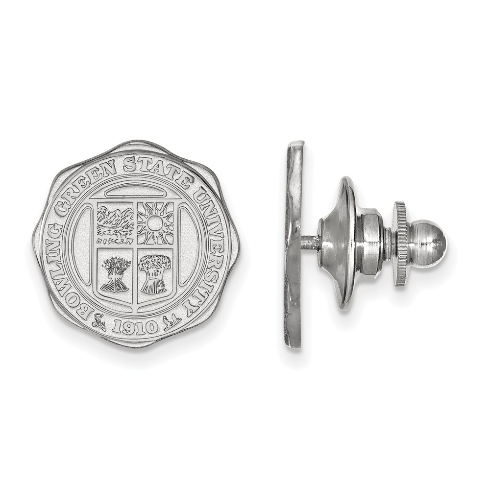 Solid 925 Sterling Silver Eastern Michigan University Crest Cuff Link 15mm x 15mm