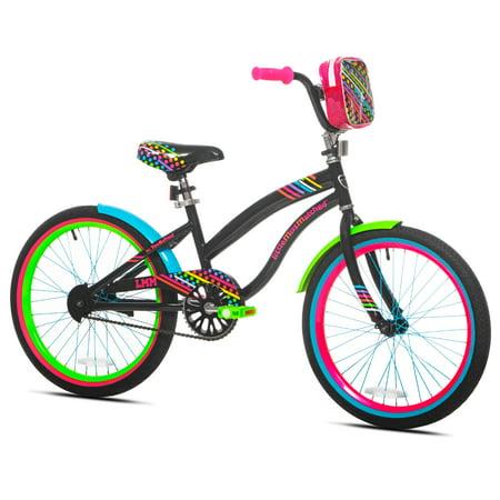 LittleMissMatched 20u0022 Sweet Style Girls Bike, Multi-Color