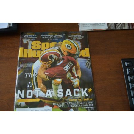 1980 Sports Illustrated Magazine - Sports Illustrated Magazine- October 8, 2018 THIS IS NOT A SACK SAFER VS. SOFTER
