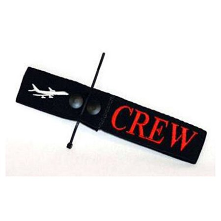 Airline Crew Bag Tag - Embroidered