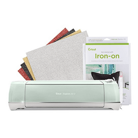 Cricut Explore Air 2 Machine Bundle With Iron-On Starter Kit
