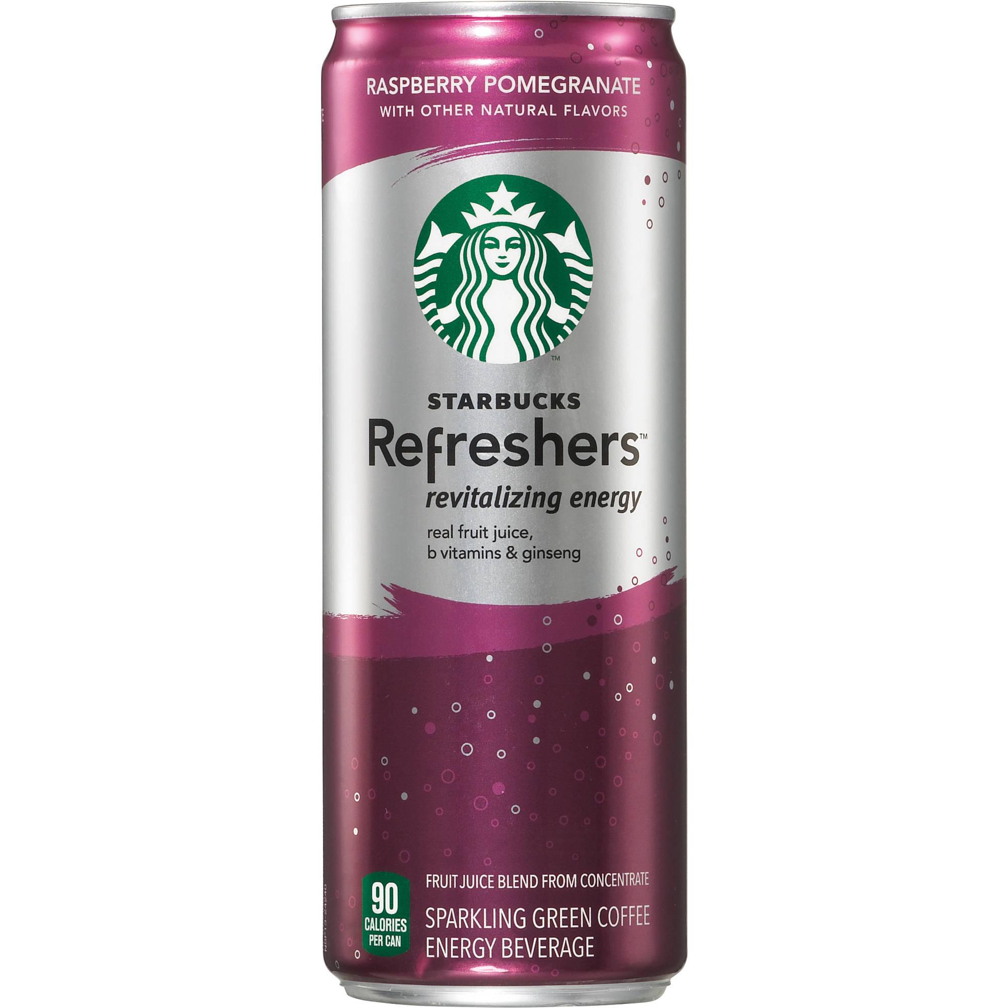 Starbucks Refreshers Raspberry Pomegranate Revitalizing Energy Drink, 12 fl oz