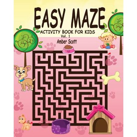 Easy Maze Activity Book for Kids - Vol. 1](Easy Halloween Activities)