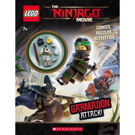 Garmadon Attack! (Lego Ninjago Movie: Activity Book with - Halloween Activities For Toddlers Miami