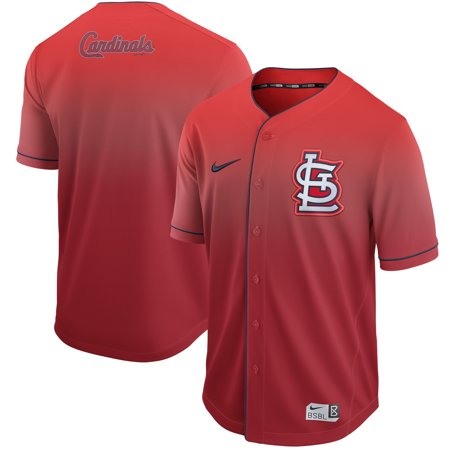 sale retailer 32bf9 17ce4 St. Louis Cardinals Nike Fade Jersey - Red