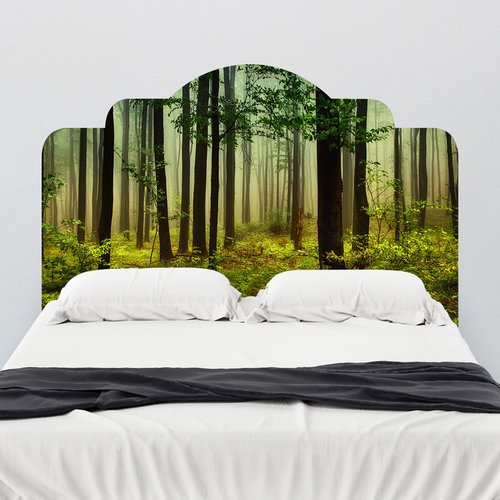 Walls Need Love Forest Dreams Adhesive Headboard Wall Mural