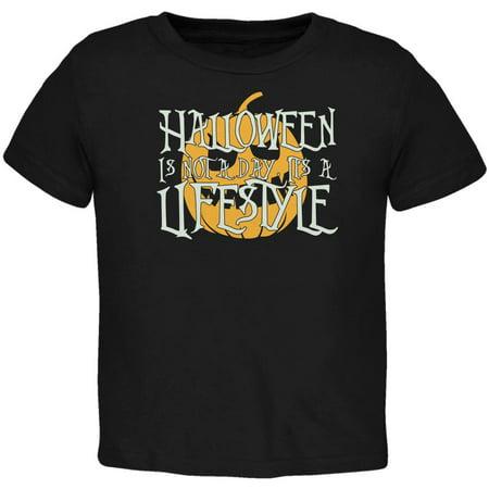 Halloween Lifestyle Black Toddler T-Shirt - Obama Style Halloween