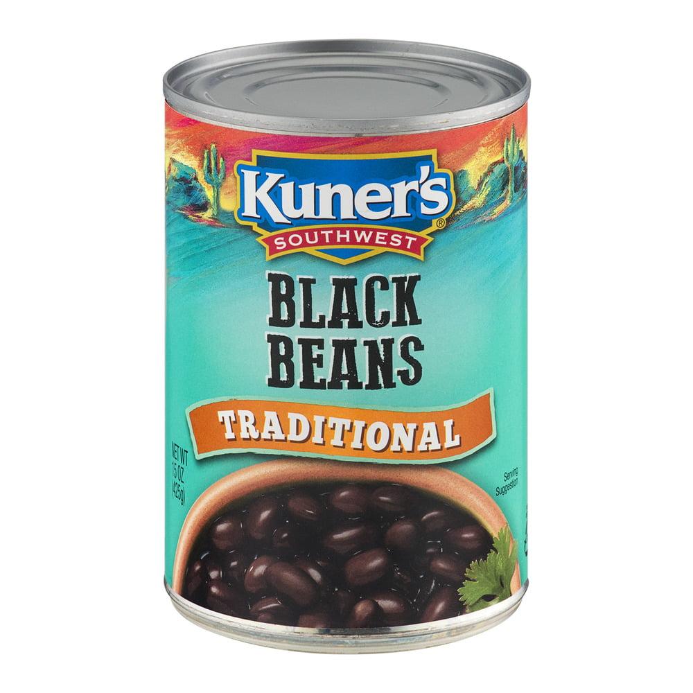 Kuner's Southwest Black Beans Traditional, 15.0 OZ