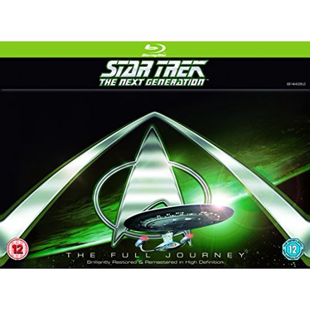 Star Trek: The Next Generation (Complete Seasons 1-7) - 41-Disc Box Set ( Star Trek: TNG (176 Episodes) ) Blu-Ray, (Star Trek The Next Generation Data Episodes)