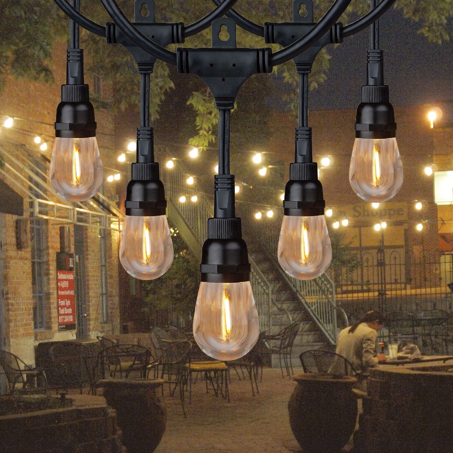 Honeywell 24' Commercial-Grade LED Indoor/Outdoor String