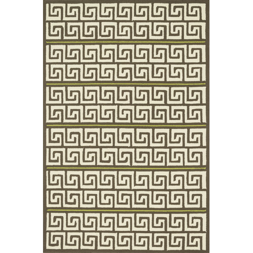 Dann Foley Palm Springs Brown/Green Indoor/Outdoor Area Rug