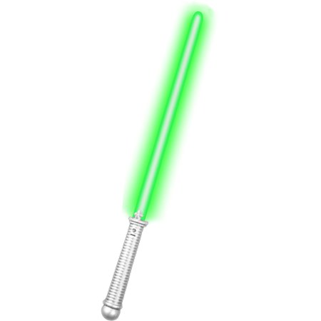 Green LED Laser Saber Glowing Toy Costume Light Sword - Led Light Sword