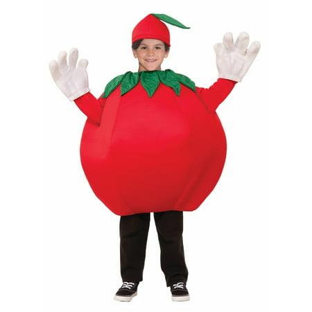 Kid's Tomato Costume - Halloween Rotten Tomatoes