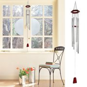 Aluminum Relaxing Redwood Top Windchime Bell Wind Chimes Outdoor Decoration