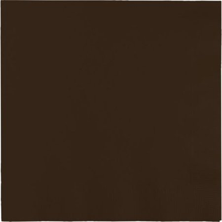 - Hoffmaster Group 593038B 0.25 Dinner 3-Ply Fold Napkins, Chocolate Brown - 25 per Case - Case of 10