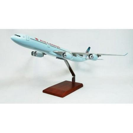 Daron Worldwide Airbus A340-500 Air Canada Model Airplane