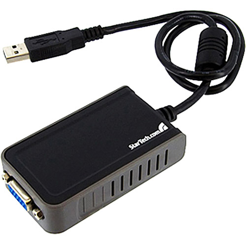 StarTech.com USB2VGAE2 USB VGA External Monitor Video Adapter