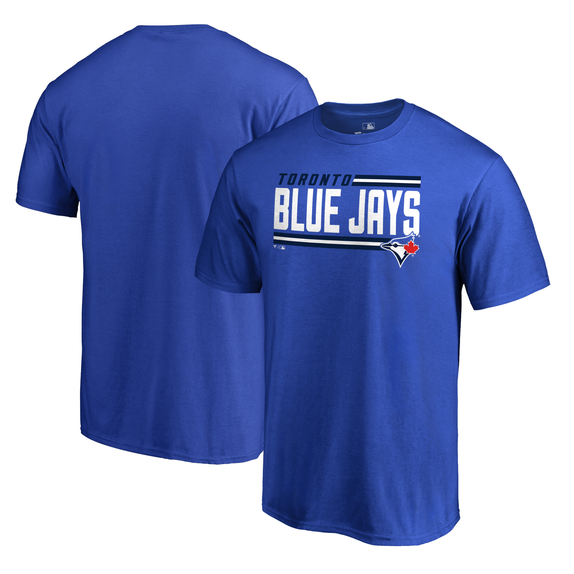Toronto Blue Jays Fanatics Branded Onside Stripe T-Shirt - Royal