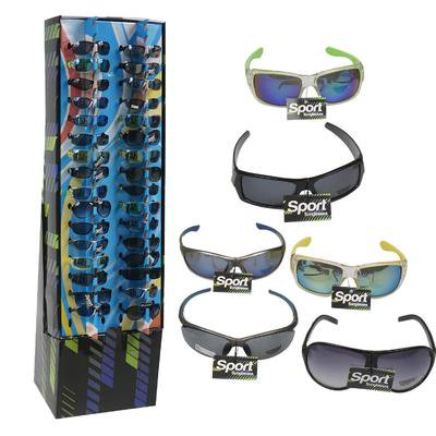 New 216404  Plastic Sports Glasses (240-Pack) Cheap Wholesale Discount Bulk Apparles. Small Candle Holder (Cheap Sports)