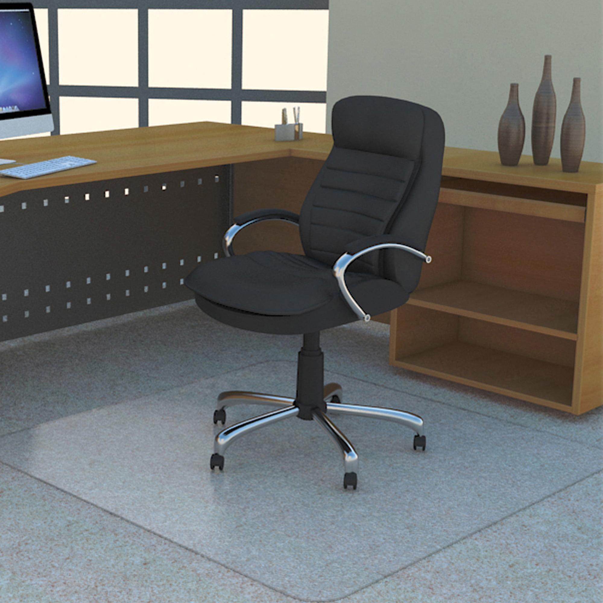 Deflecto 36 X 48 Chair Mat For Carpet And Hard Floor, Rectangular    Walmart.com