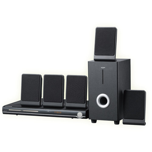Curtis 5.1 Channel DVD Home Theatre System, DVD5088 by Curtis