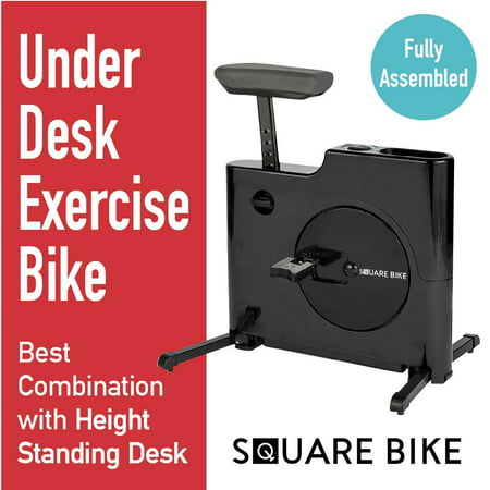 Foldable Under Desk Exercise Bike Peddale Exercier Daiwa Felicity Square (Best Bikes Under 750)