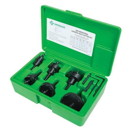 Greenlee 628 Carbide Cutter Set, 8pcs