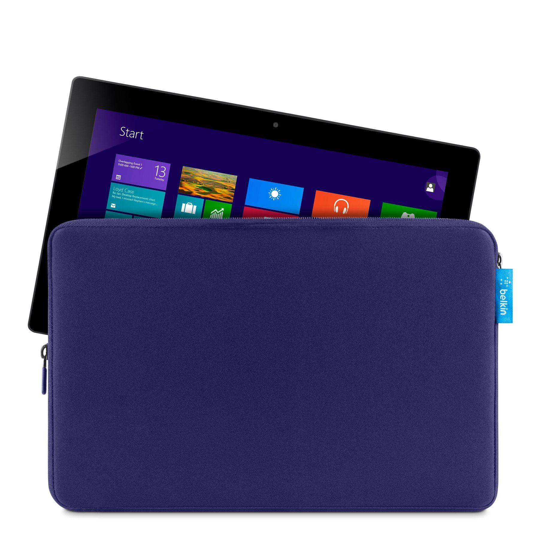 Belkin Carrying Case [sleeve] For Tablet - Navy - Scratch Resistant Interior, Damage Resistant Interior - Neoprene (f7p306ttc03)