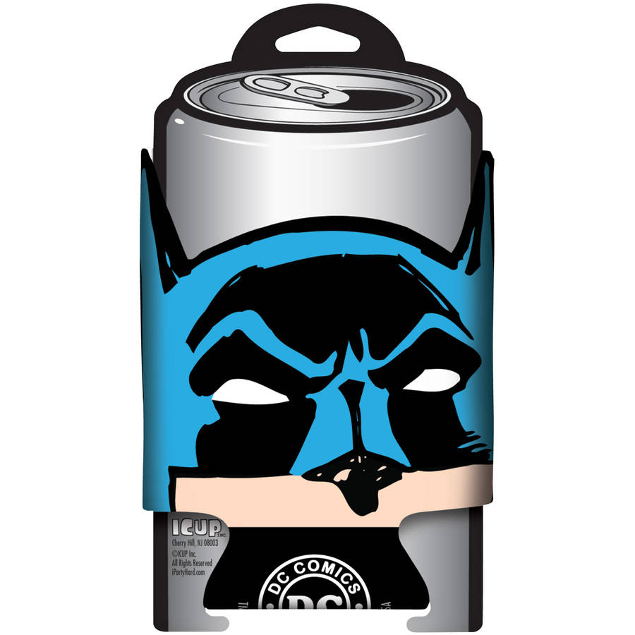DC Comics Batman Diecut Face Can Cooler