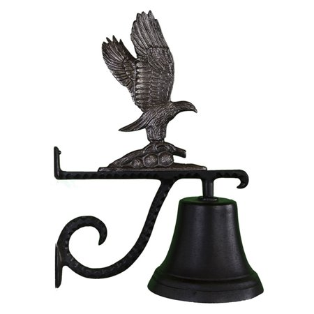 (Cast Bell with Swedish Iron Eagle Ornament)