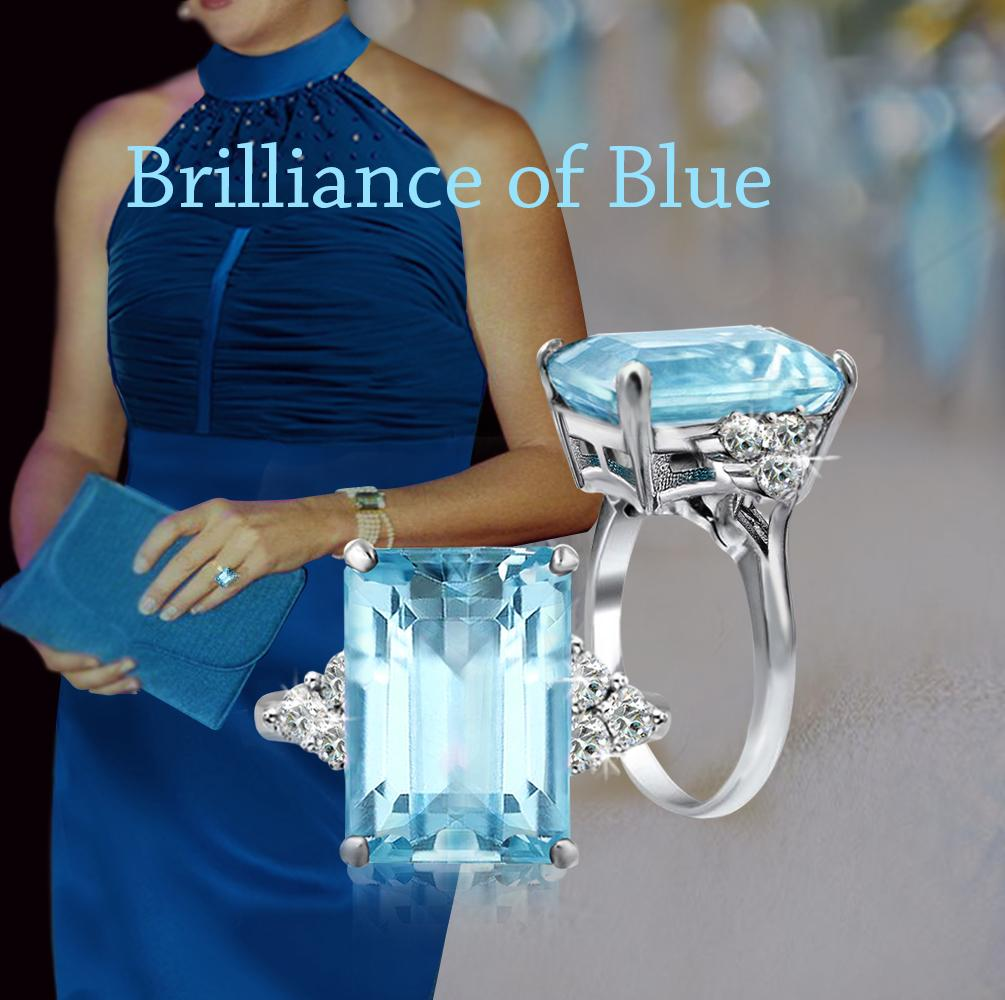 10+ Meghan Markle Diana Aquamarine Ring