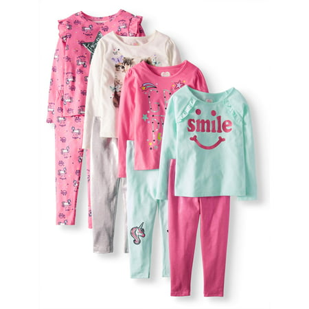 Girls' Kid-Pack Mix and Match Outfits 8-Piece Set